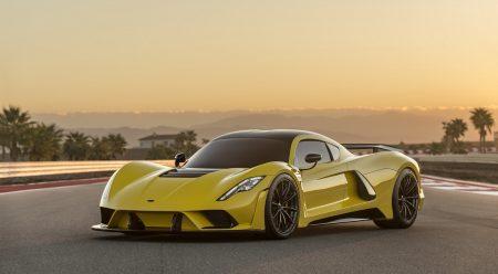 Hennessey Venom F5: el coche más rápido del mundo se pone a 482 km/h