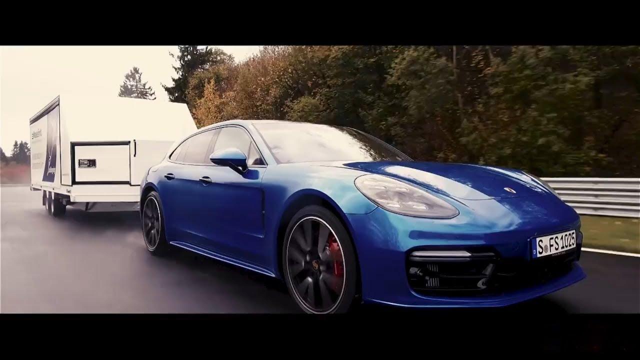 Porsche es el más rápido en Nürburgring… tirando de un remolque