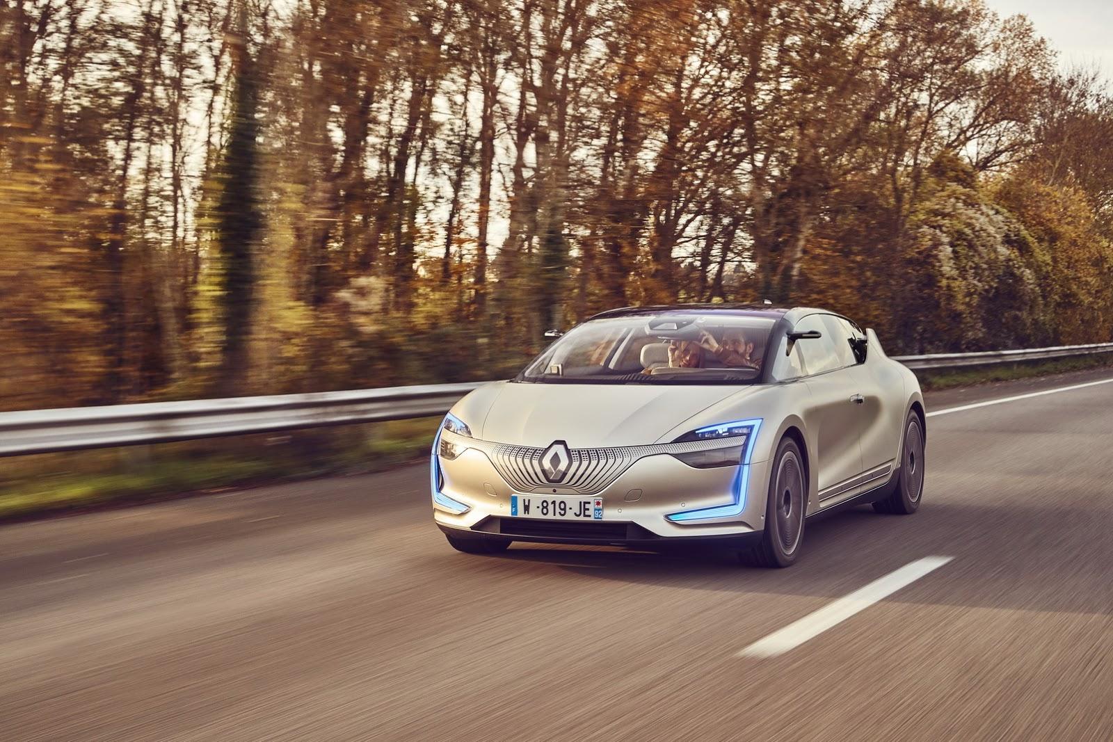 Renault Symbioz: el futuro está más cerca de lo que parecía