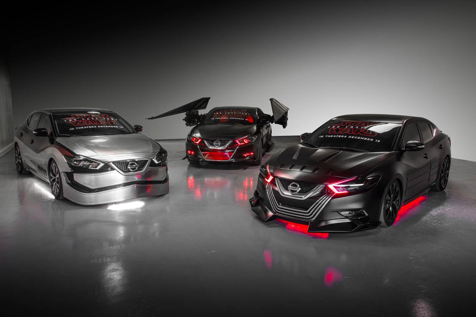 Nissan se inspira en 'Los últimos Jedi' con seis modelos especiales