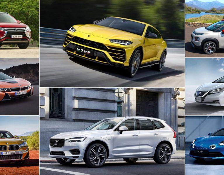 Los 25 coches que van a triunfar en 2018