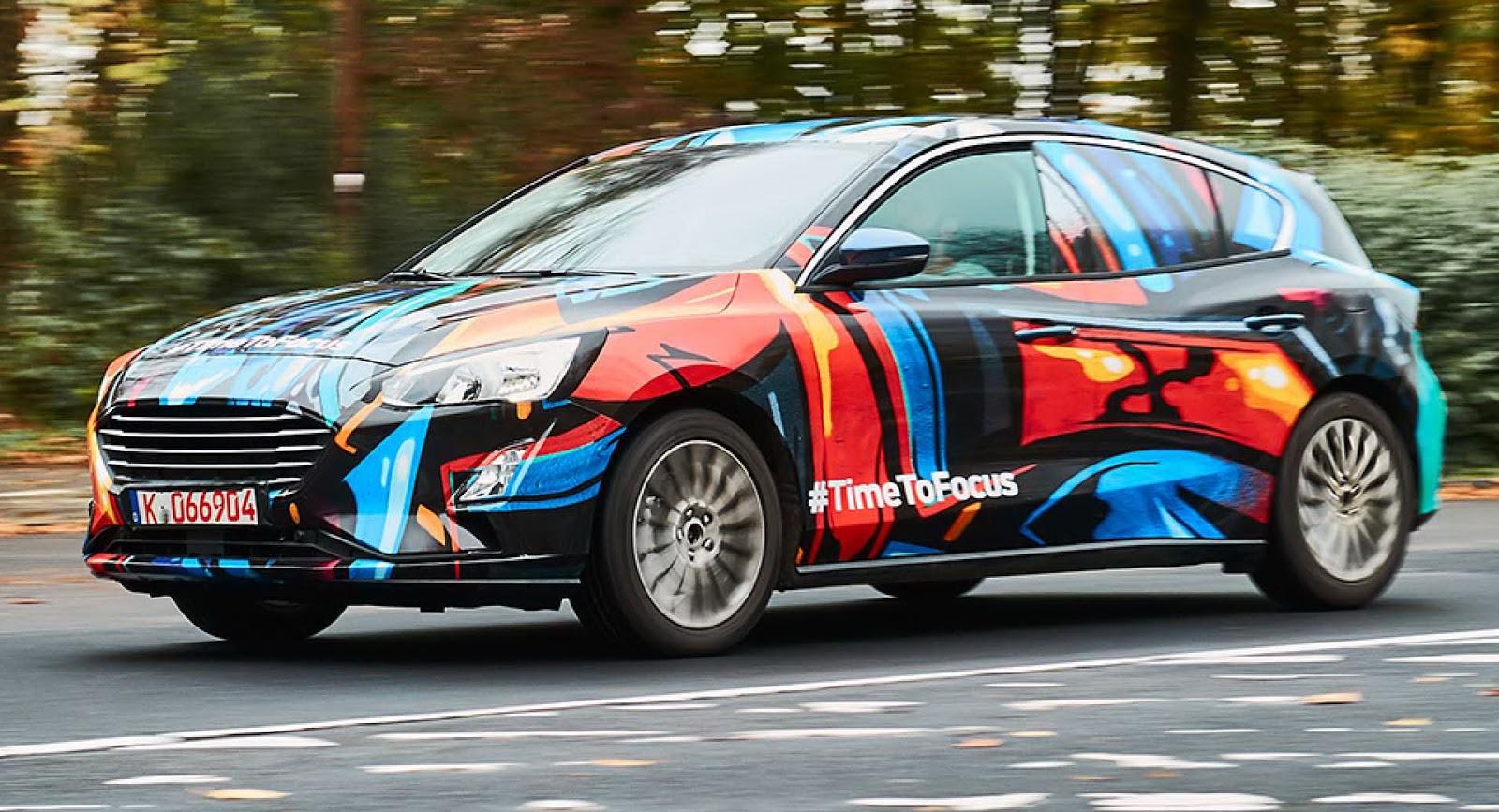 Ford desvela la primera imagen del nuevo Focus
