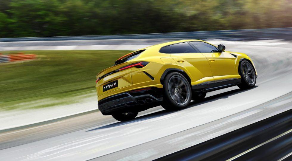 3. Lamborghini Urus: 3,6 segundos