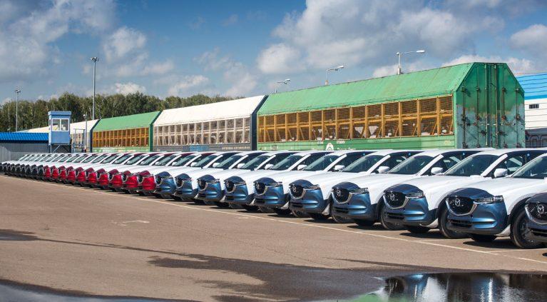 La aventura siberiana de Mazda