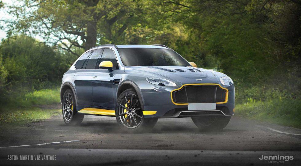 Aston Martin V12 Vantage SUV Concept