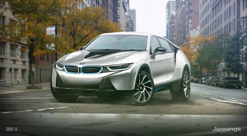 BMW i8 SUV Concept