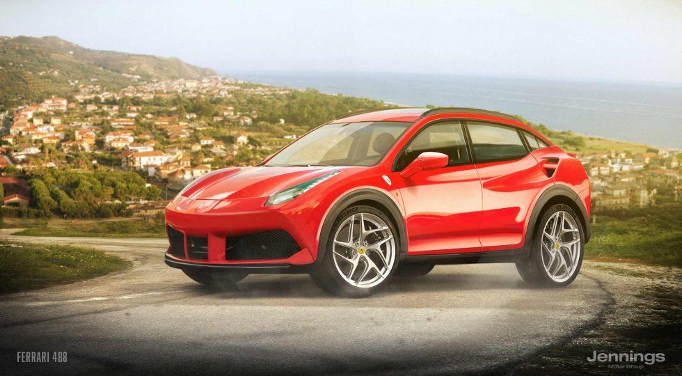 Ferrari 488 SUV Concept