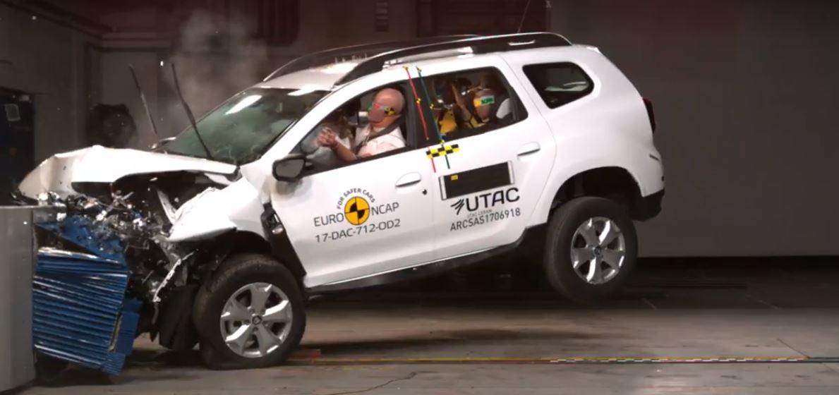 El Dacia Duster se renueva, pero solo tiene tres estrellas en seguridad
