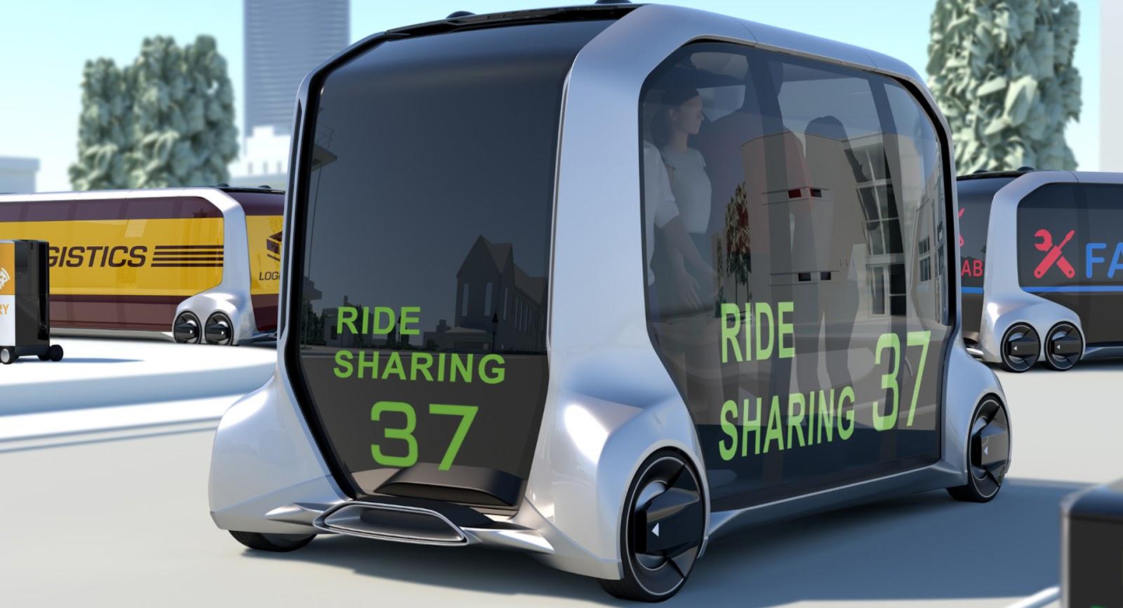 Toyota e-Palette, el repartidor del futuro (y mucho más)