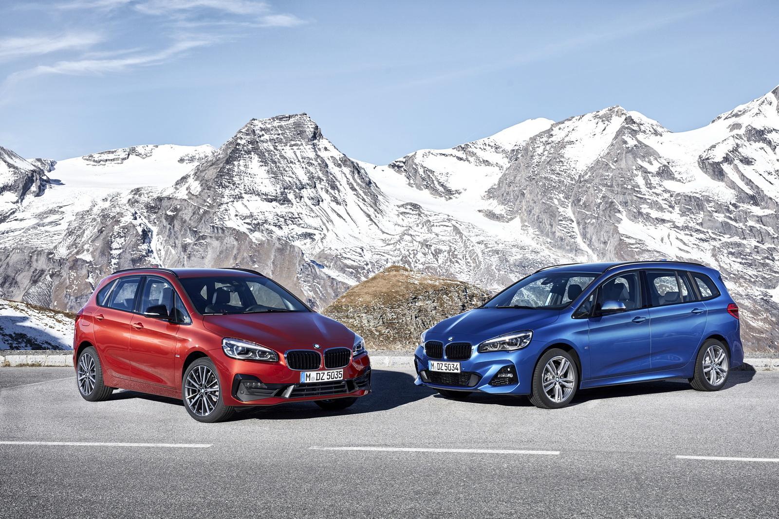 Los sutiles cambios de los BMW Serie 2 Active Tourer y Gran Tourer