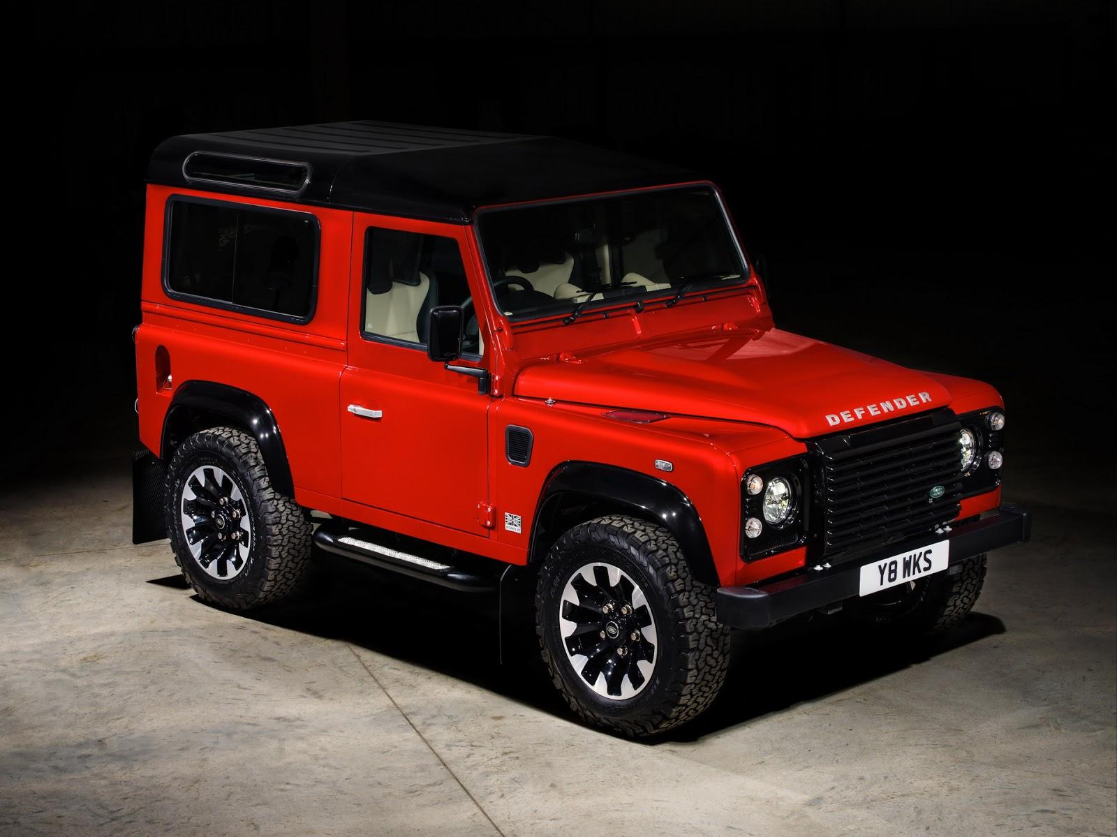 Vuelve el Land Rover Defender ¡con 405 CV!
