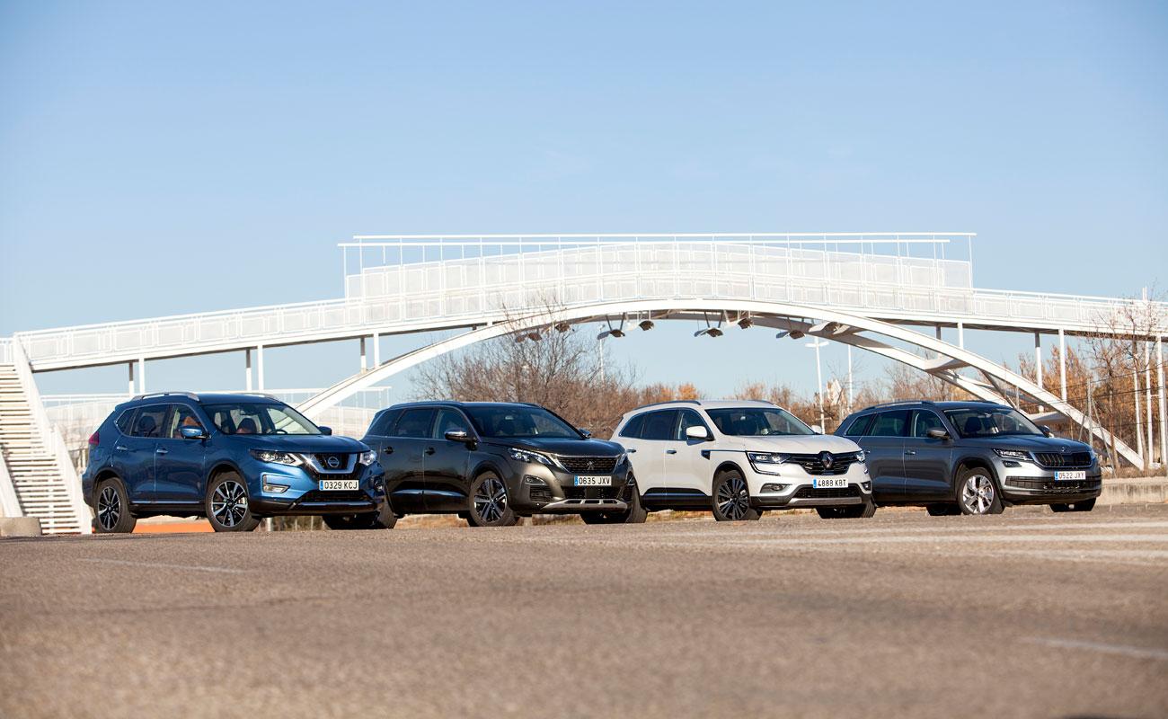 Comparativa: ¿cuál es el mejor SUV grande para toda la familia?