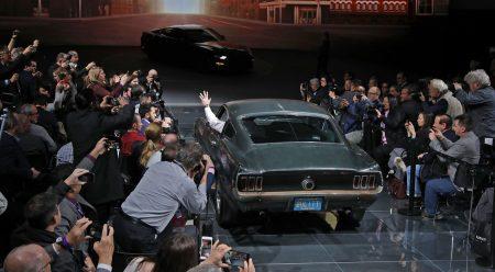 El Mustang de Steve McQueen vuelve a derrapar 50 años después