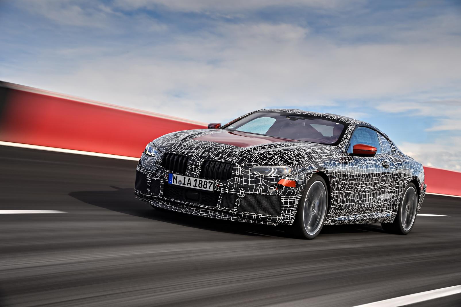 El nuevo BMW Serie 8 se pone a punto