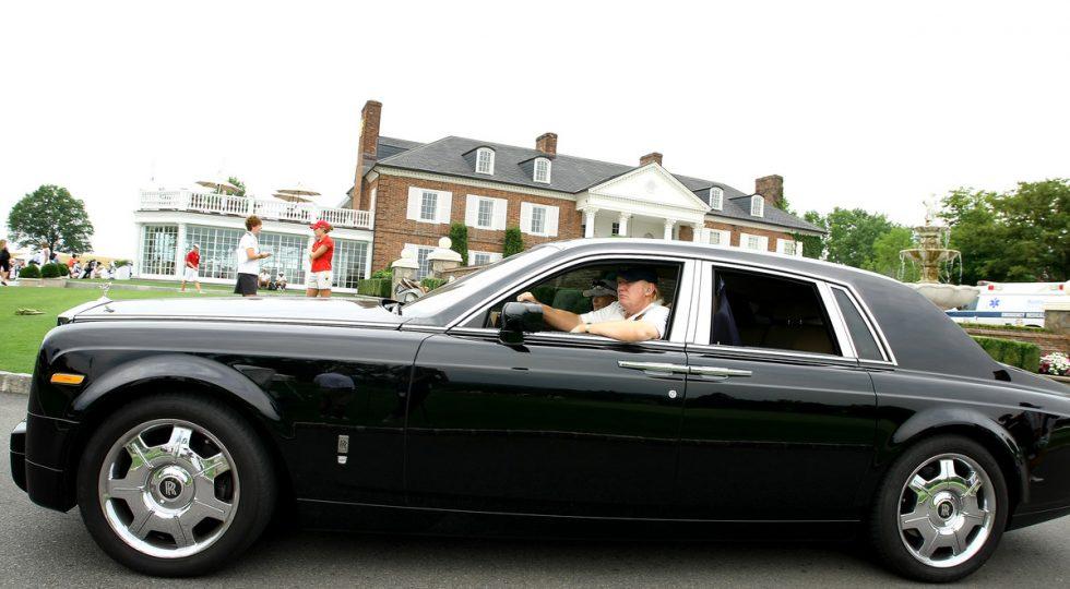El garaje del presidente: los coches de Donald Trump