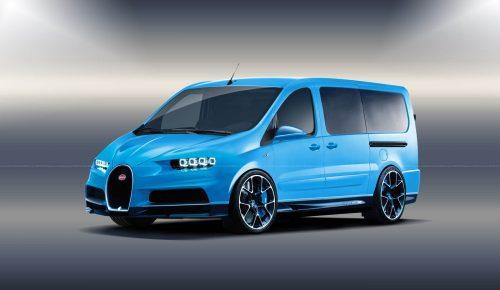 ¿Y si Bugatti fabricara una furgoneta?