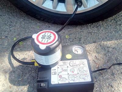 Kit para rueda de repuesto de Nissan Qashqai con herramientas de montaje