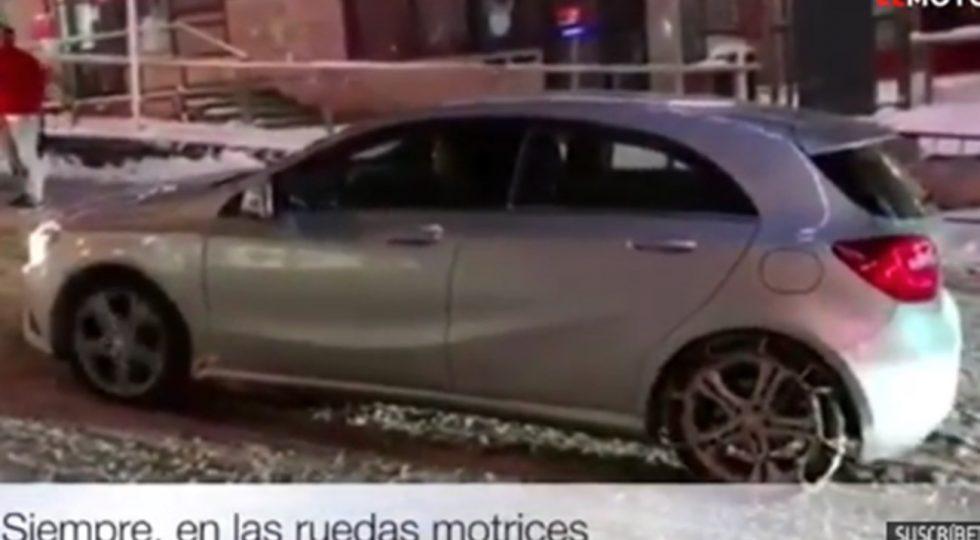 El vídeo que se ha hecho viral con las nevadas: así no se ponen las cadenas