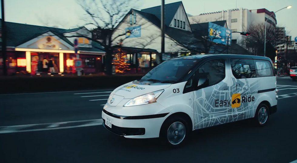 Nissan taxis robotizados