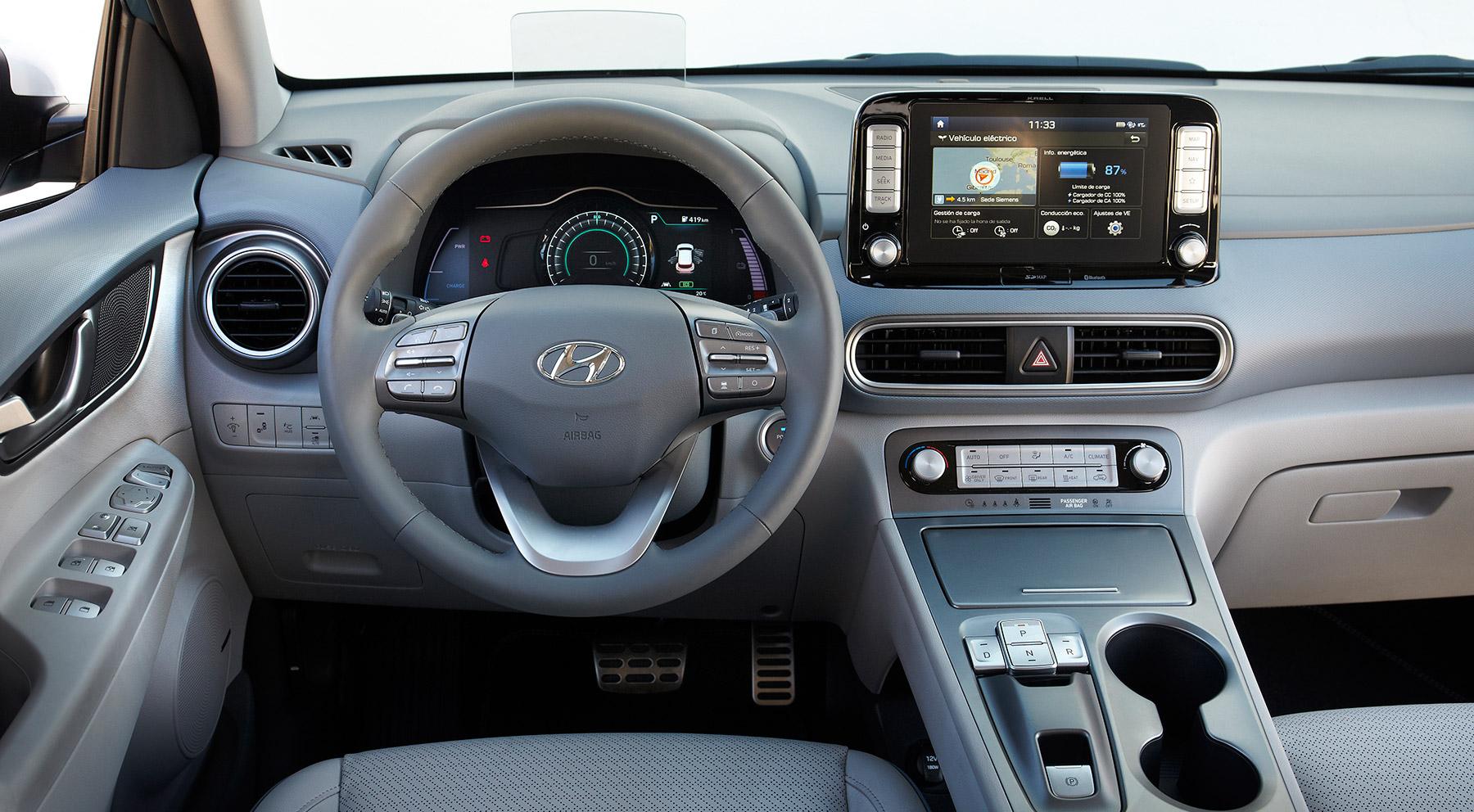 Todas las imágenes del Hyundai Kona eléctrico