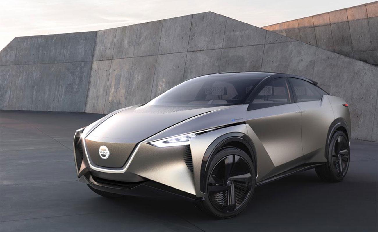 Nissan IMx Kuro salon del automovil ginebra