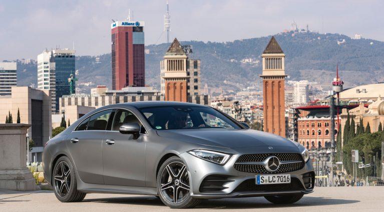 Mercedes CLS 2018: las imágenes