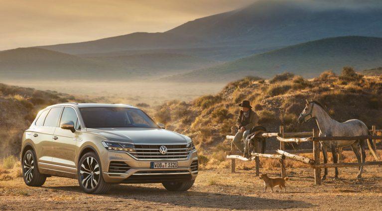 Las primeras imágenes del nuevo Volkswagen Touareg