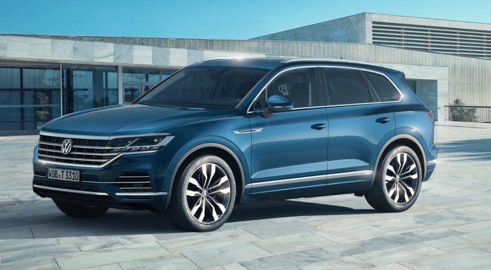 Volkswagen desvela en Pekín la imagen del nuevo Touareg