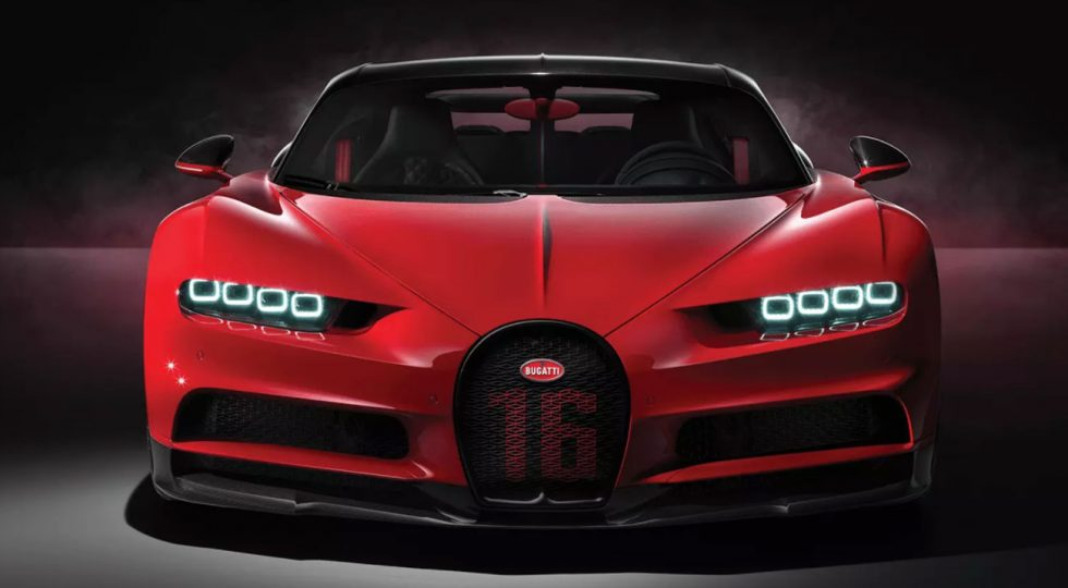 Bugatti Chiron Sport: las imágenes