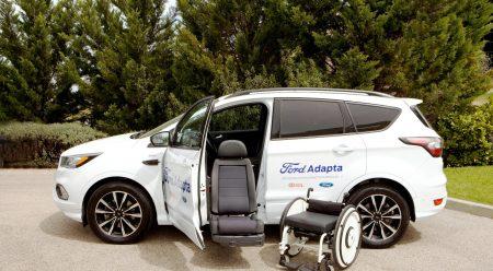La increíble silla de ruedas autónoma de Ford