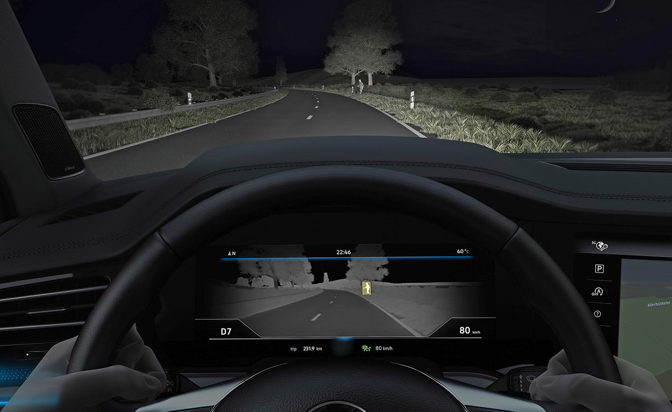 El Volkswagen Touareg también ve en la oscuridad