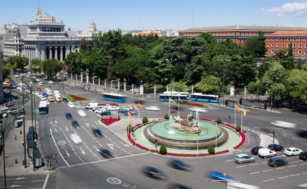 cierre trafico centro madrid