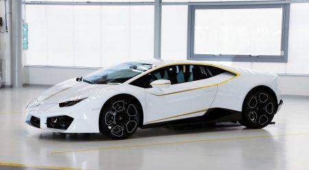 El Lamborghini del Papa sale a subasta