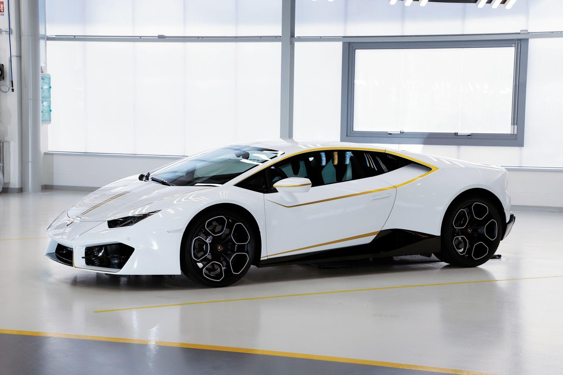 El Lamborghini del Papa