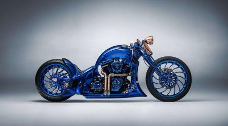 Harley-Davidson Bucherer Blue Edition: la moto del millón y medio de euros