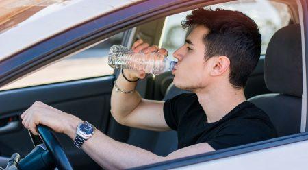 Las cinco claves para sobrevivir en el coche a la ola de calor