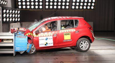 El Renault Sandero consigue solo una estrella en seguridad