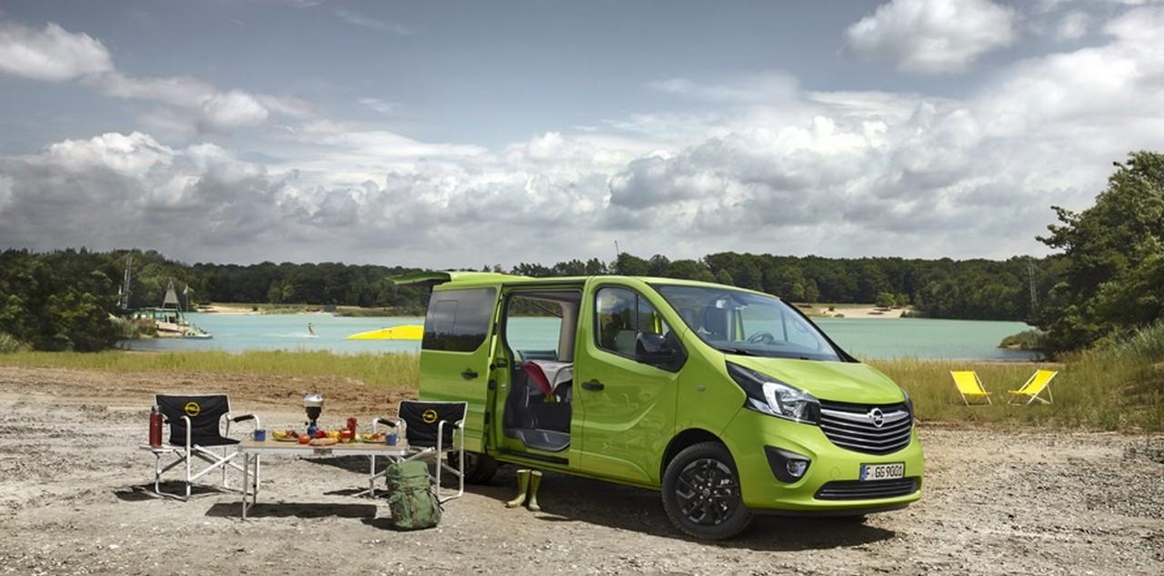 furgoneta camper Opel Vivaro Life