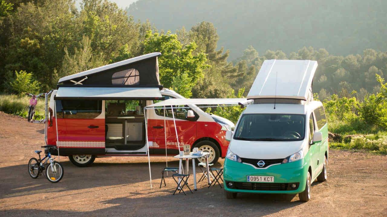 furgoneta Nissan NV Camper