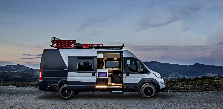 furgoneta Fiat Ducato Camper Van