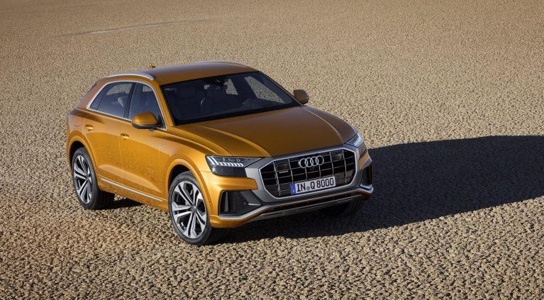 Las imágenes del Audi Q8