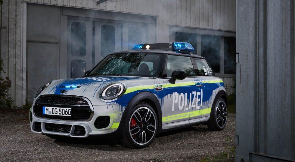 Mini JCW de la policía