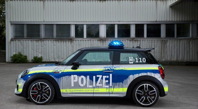 El Mini JCW de la policía