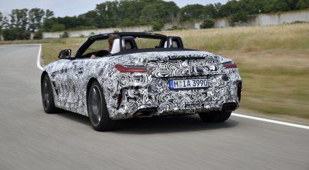 El nuevo BMW Z4, por primera vez en movimiento