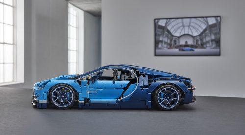 El Bugatti Chiron de Lego es más rápido que el real… a escala