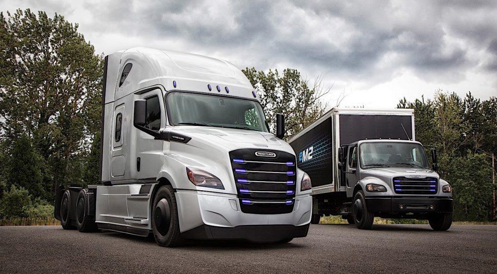 Camión eléctrico Daimler