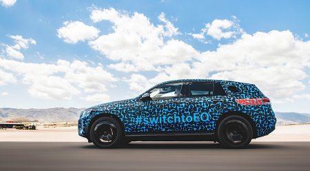Mercedes EQC: el primer 100% eléctrico de la marca alemana se deja ver