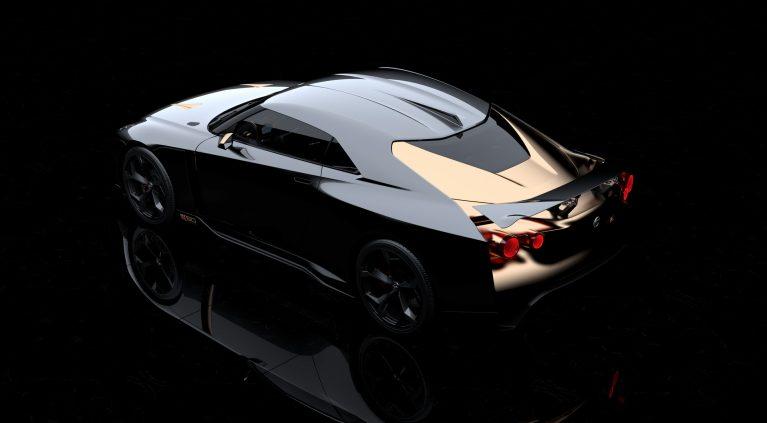 Las imágenes del Nissan GT-R50