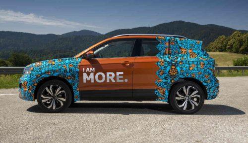 Las imágenes del Volkswagen T-Cross
