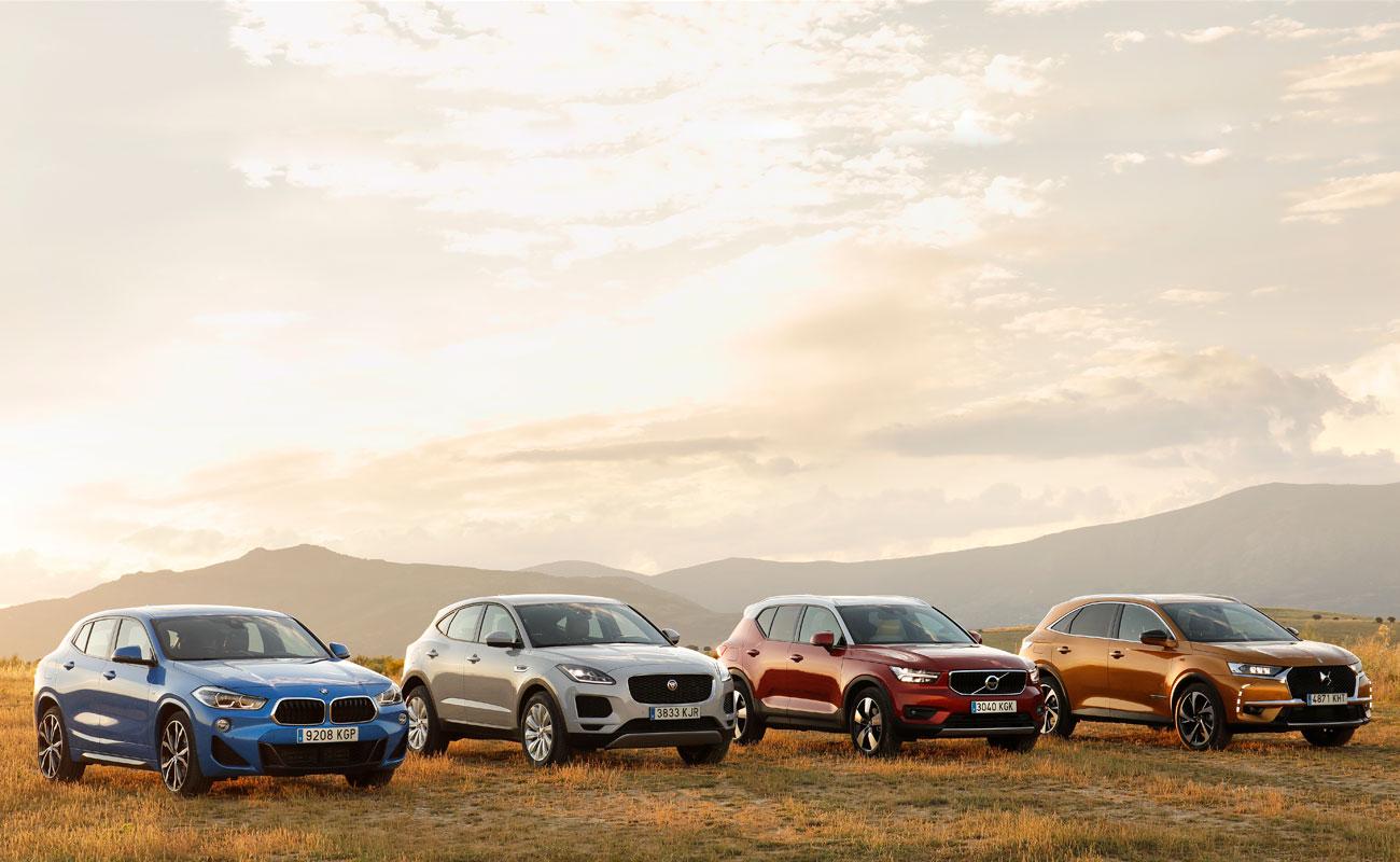 Comparativa: ¿qué SUV 'premium' compacto es el mejor?